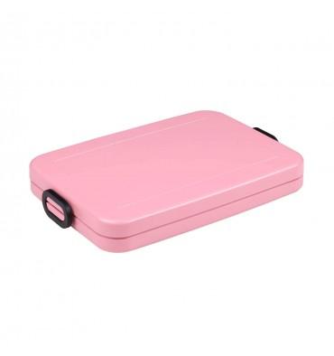 Mepal Lunchbox Take a Break Flat - Nordic Pink