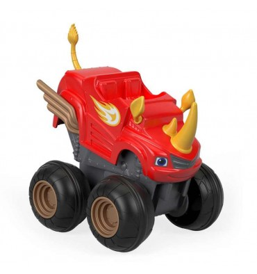 Fisher Price Blaze en de Monsterwielen Sla & Ga - Rhino Blaz