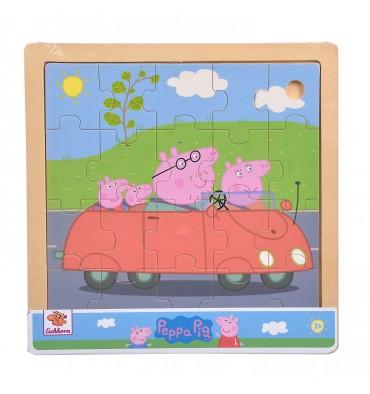 Eichhorn Houten Puzzel Peppa Pig