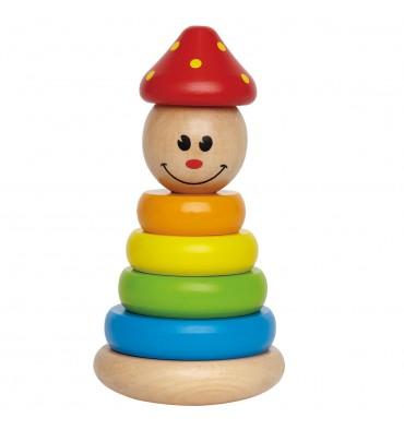 Hape Houten Stapel Clown