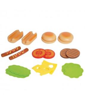 Hape Hamburgers & Hotdogs