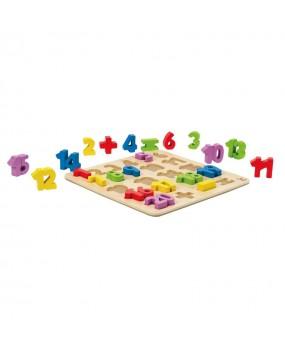 Hape Cijfer Puzzel