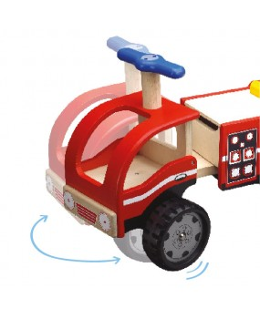 Wonderworld Loopauto Brandweer