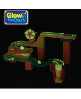 Wonderworld Knikkerbaan Glow & Roll
