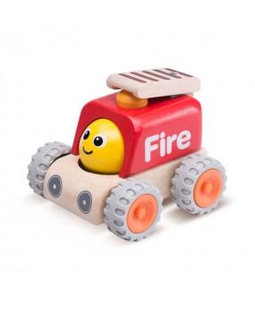 Wonderworld Houten Smiley Brandweerwagen