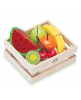 Wonderworld Houten Kistje met fruit