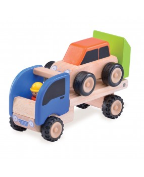 Wonderworld Houten Mini Transporter